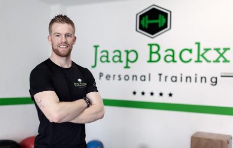 Portretfoto van Jaap in zijn sportschool